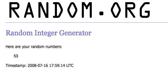 random org generator