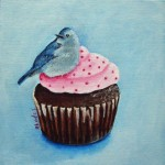 bluebird-on-a-cupcake-original-paintinbluebird-on-a-cupcake-original-painting-8x8-art-bird-g-8x8-art-bird