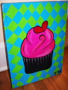 cupcakes-on-canvas-by-taylor-morgan