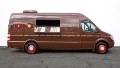Sprinkle Cupcake Van