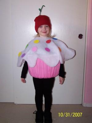 Cute Cupcake Costume