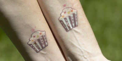 Sweet City Cupcake Tattoo