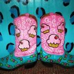 Cupcake Boots