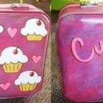 Cupcake Suitcase