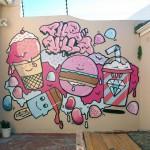 Cupcake Graffiti
