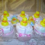 diaper cupcake ducks