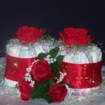 diaper cupcake rose