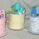 diaper cupcakes bears