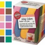 12 Icing Colors Set