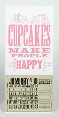cupcakes make people happy calendar