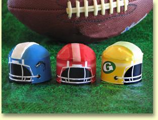 football cupcake sleeve