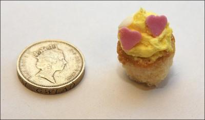 tiniest cupcake
