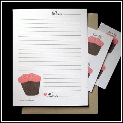 Cupcake Stationary