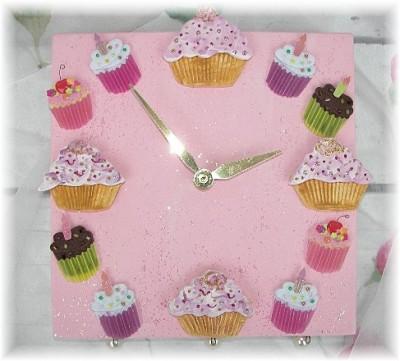 Clocks cupcake 016