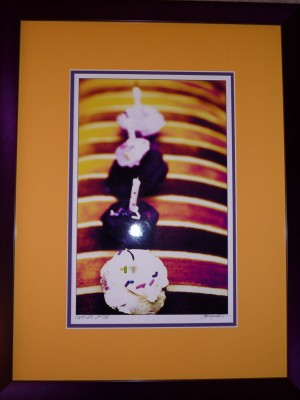 Charleston cupcake print