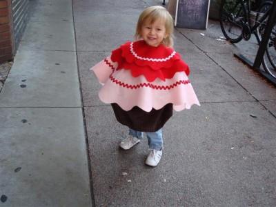 cupcake kid costume