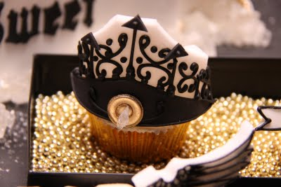 goth cupcake