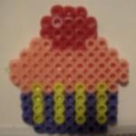 Perler Bead Cupcake (2)