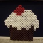 Perler Bead Cupcake (3)