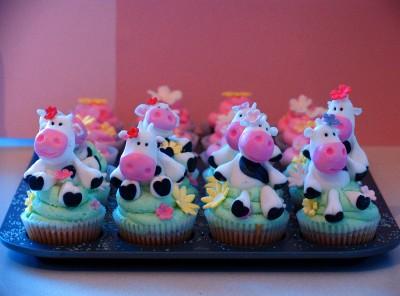 maids a milking cupcake
