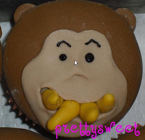 Monkey Face Cupcakes Monkey Face Cupcake