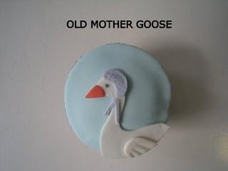 mother goose cupcake