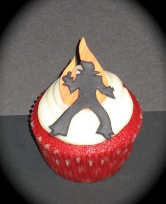 the king cupcake