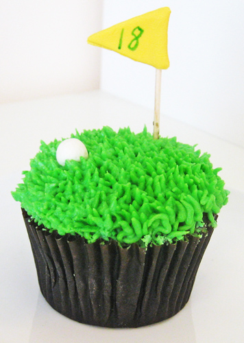 Golf Cupcake Images : Golf Cupcake - All Things Cupcake