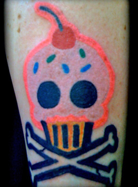 How does your cupcake tattoo go? - All Things Cupcake