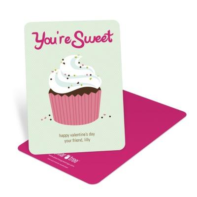Cupcake Valentines All Things Cupcake – Cupcake Valentine Card