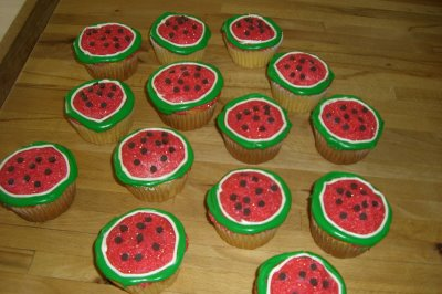 watermelon cupcakes all things cupcake watermelon cupcakes