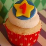 Circus Star Cupcake