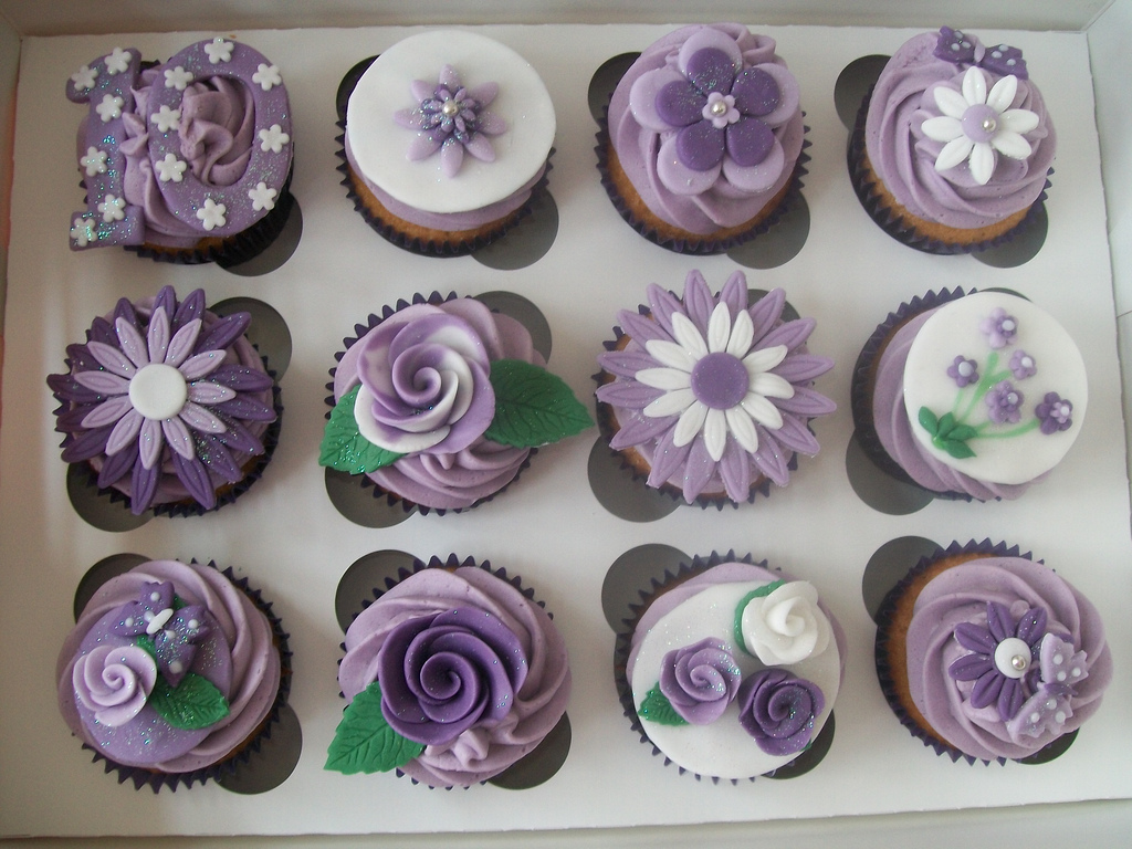 20 of Flower Cupcakes All Things Cupcake