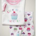 Baby Cupcake Sleeper Set