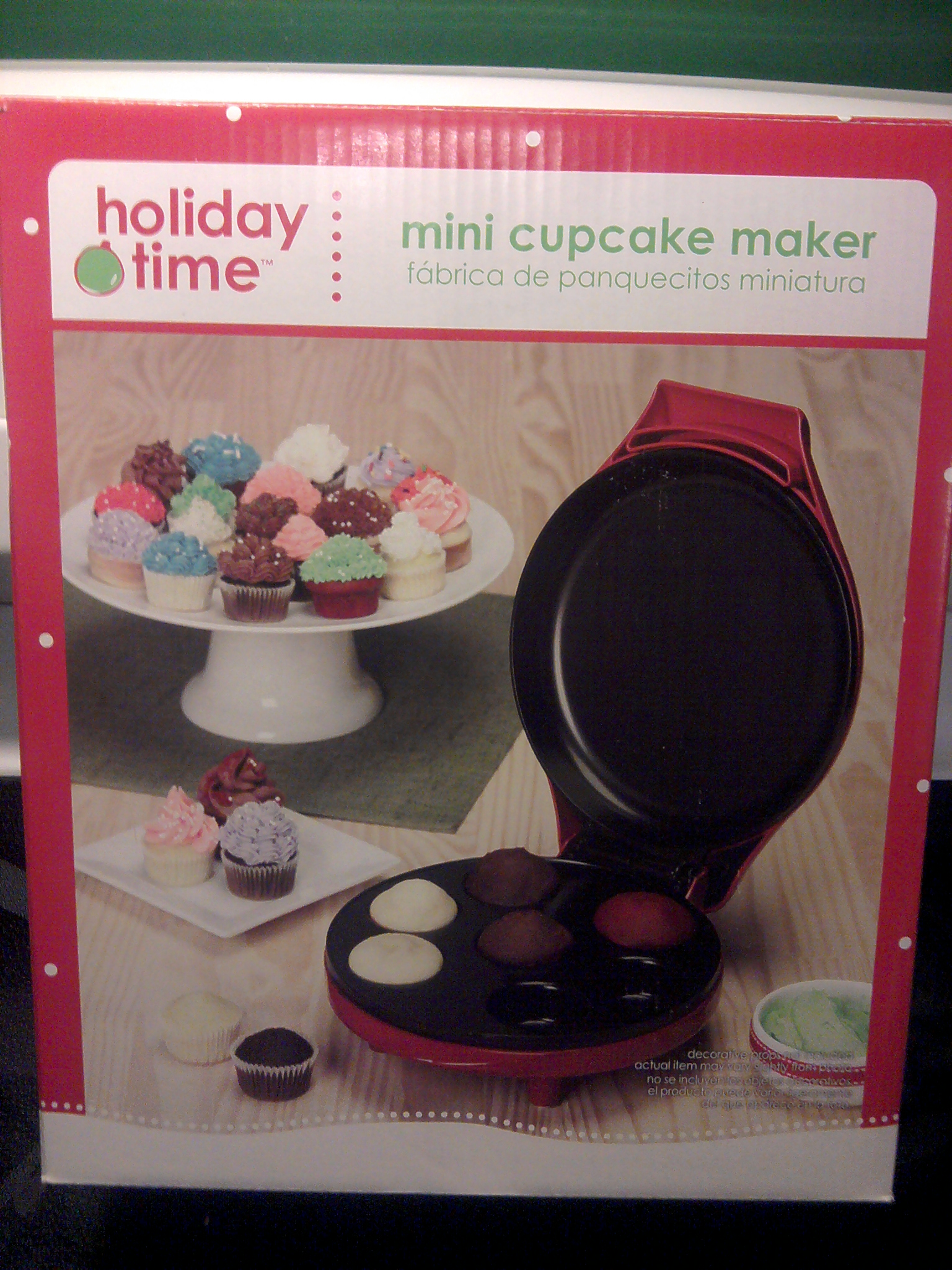 Holiday Time Mini Cupcake Maker - All Things Cupcake
