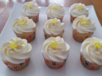 Cupcake Queen Lemon Delight Cupcakes