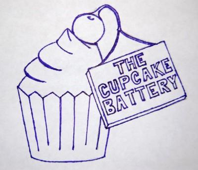 cupcake battery logo